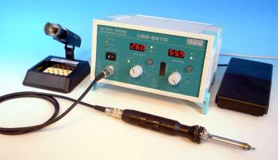 USS-9210 Ultrasonic soldering system by MBR ELECTRONICS Switzerland